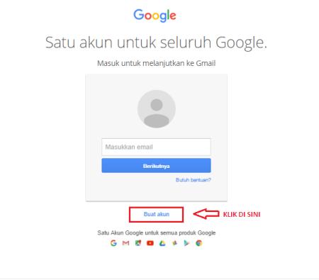 Cara Membuat Akun Gmail Baru Gratis Lengkap Nubiseo